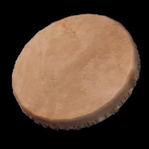 Grand tambour chamanique peau de cheval et bois de peuplier