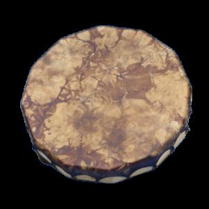 Tambour chamanique peau de cerf et bois de peuplier