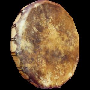 Tambour peau de bison et bois de peuplier - 40 cm - Les Tambours de Jadhyane