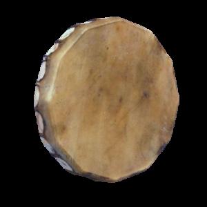 tambour chamanique cerf et peuplier -40 cm - les Tambours de Jadhyane