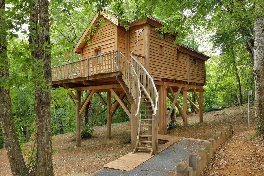 La cabane haut-charmes - gîte atypique - Dordogne